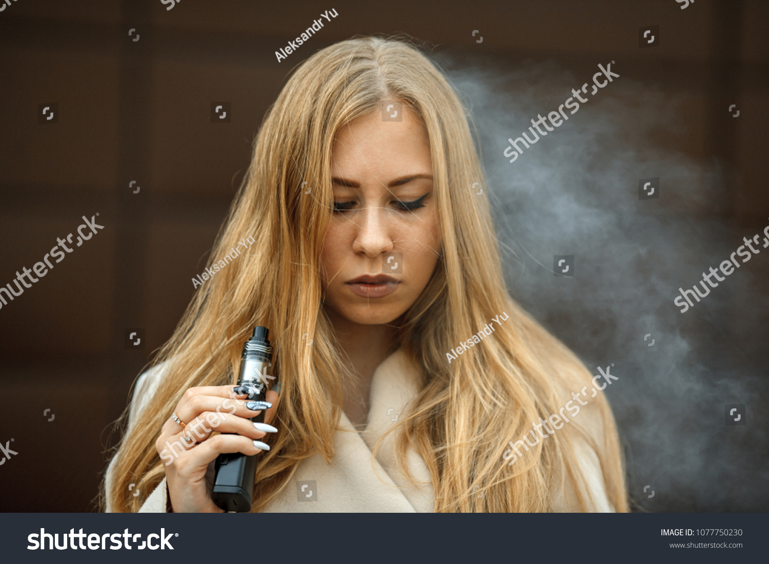 Vape Teenager Problem Skin Young Cute Stock Photo (Edit Now