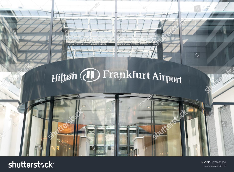 FRANKFURT GERMANY APRIL 24 View Hilton Stock Photo (Edit Now ... 38350b748
