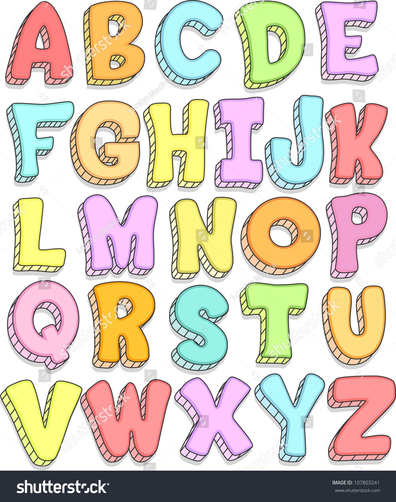 Creative writing alphabets online
