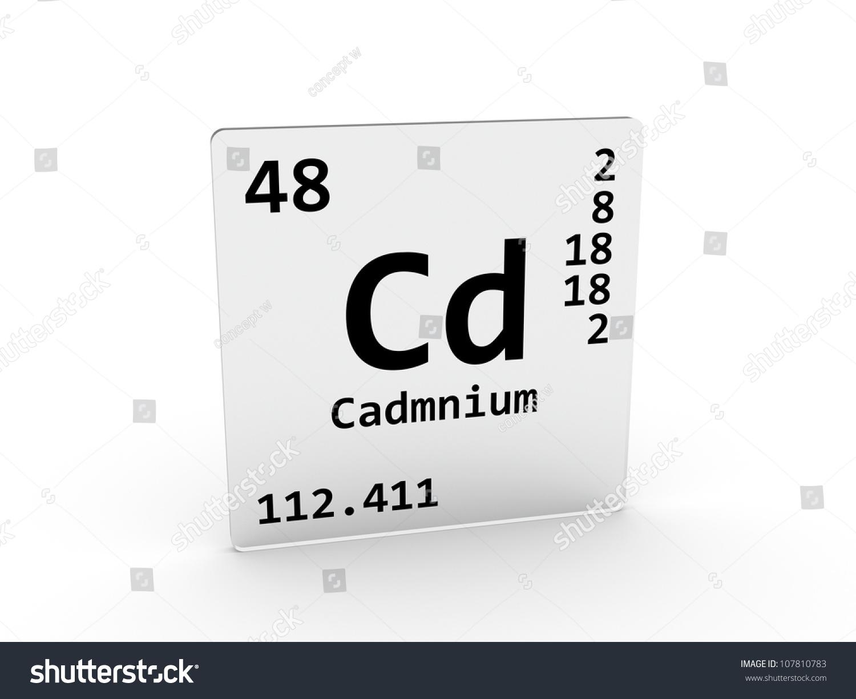Cadmium symbol cd element periodic table stock illustration cadmium symbol cd element of the periodic table urtaz Image collections