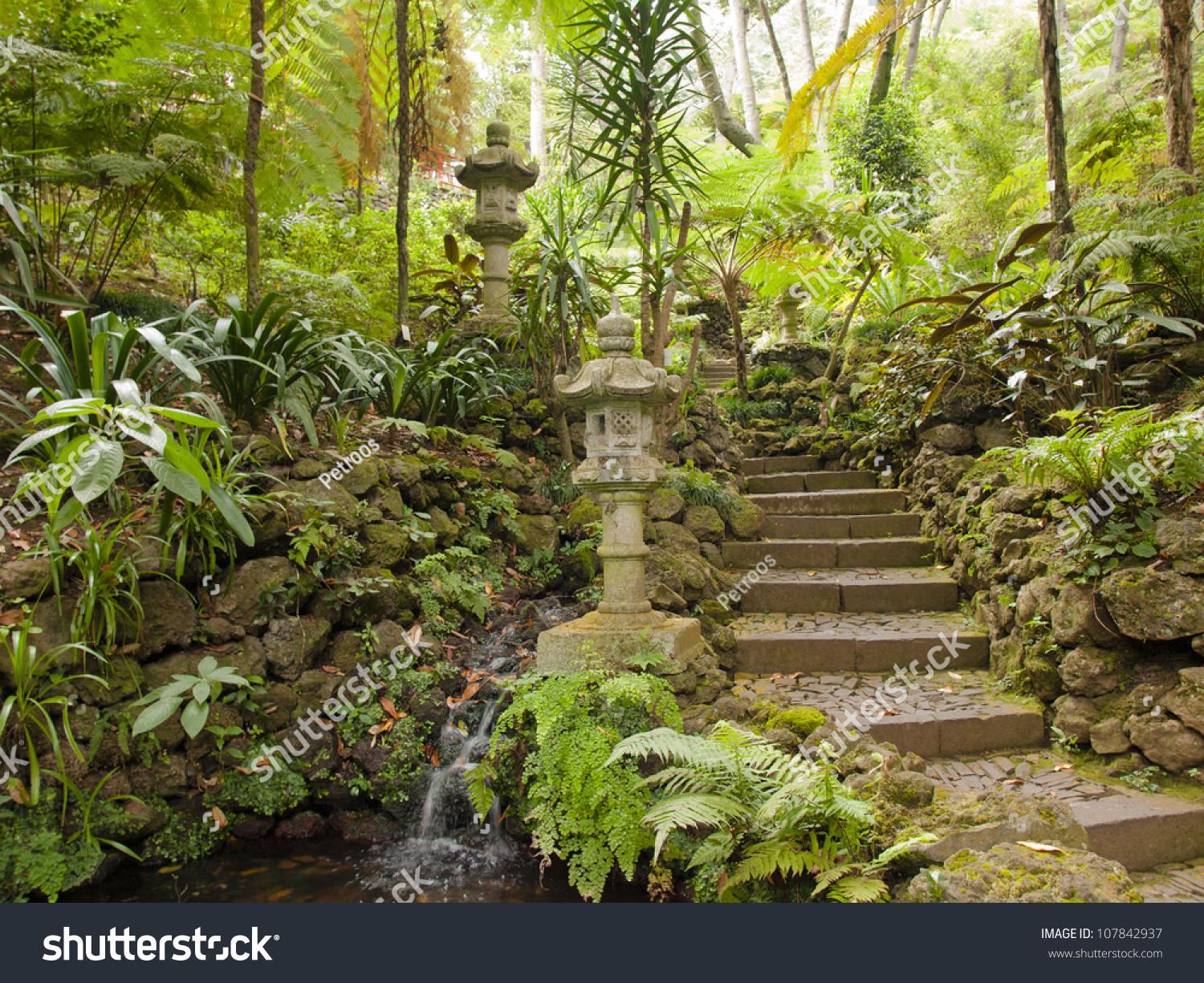 Views Tropical Gardens Monte Palace Funchal Stock Photo (Safe to Use ...