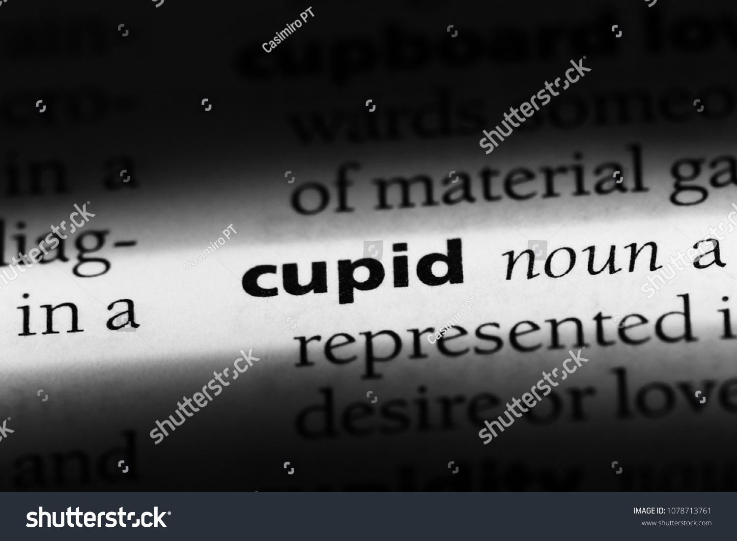 Cupid dictionary