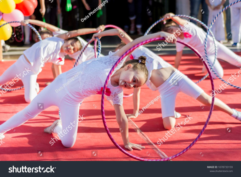 Serbian girls in action