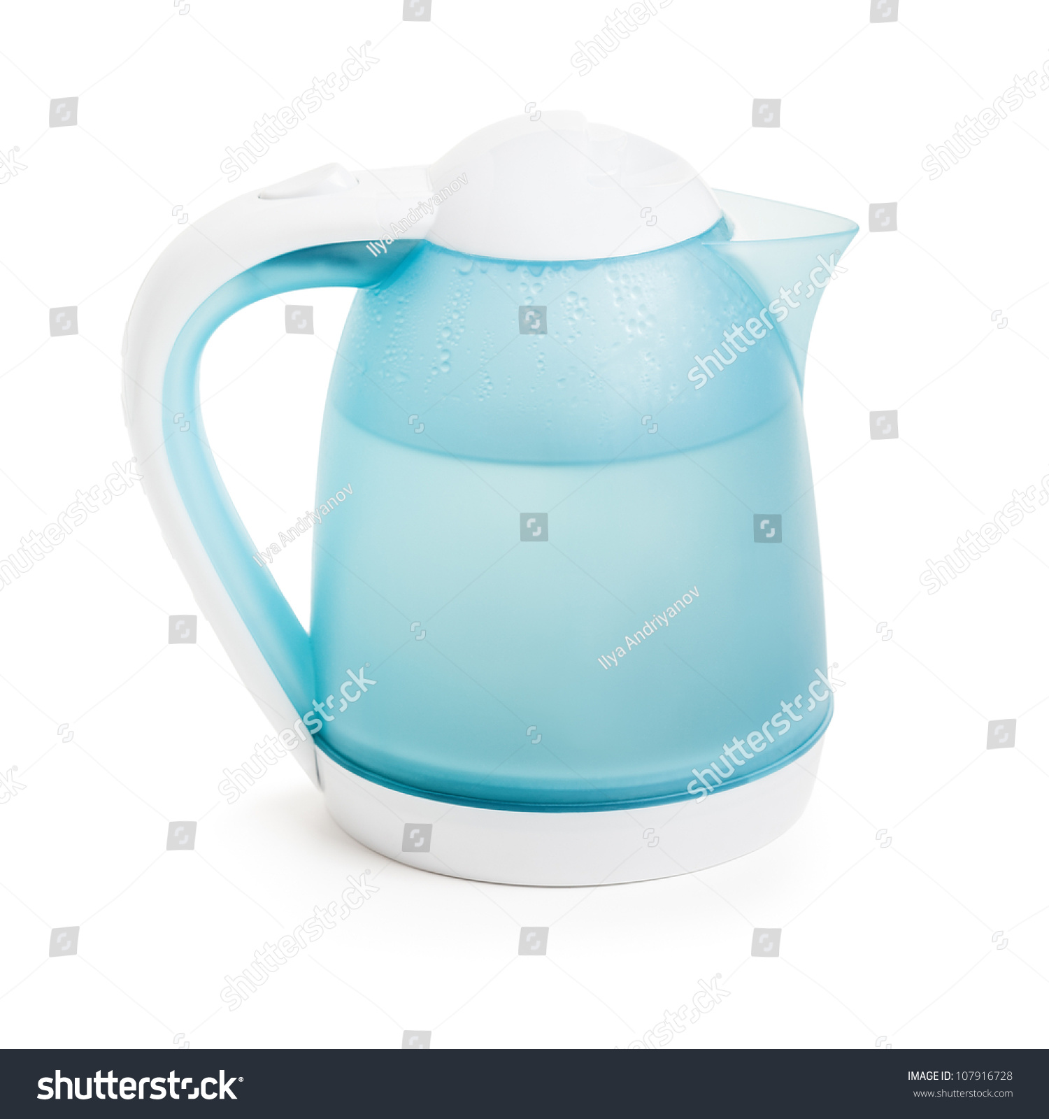 Hot Boiling Water Domestic Kitchen Electric Stock Photo 107916728 ...