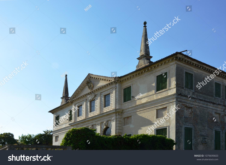 Villa Repeta Built On Preexisting Palladian Stock Photo (Edit Now ...
