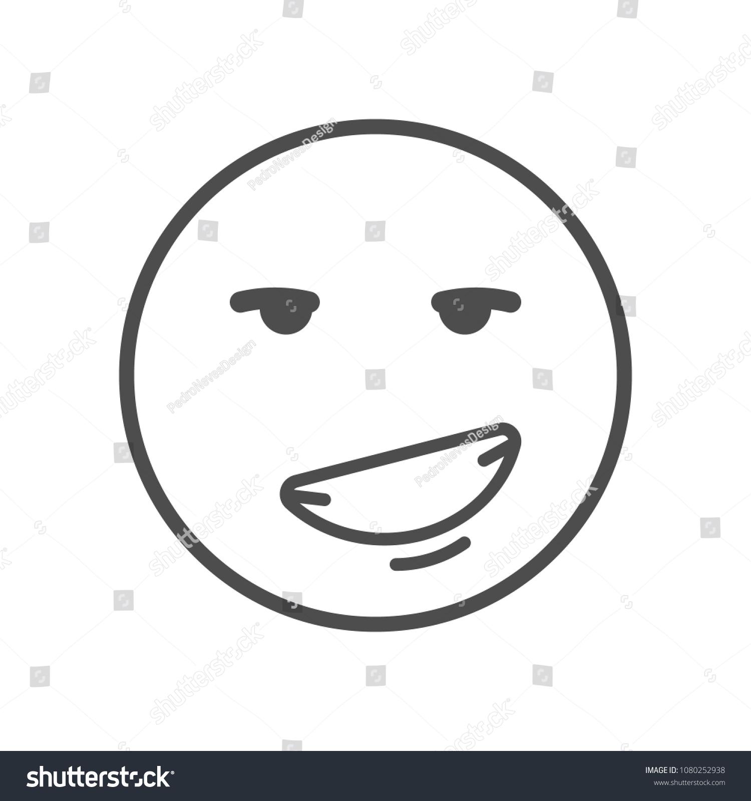 Flirting smiley