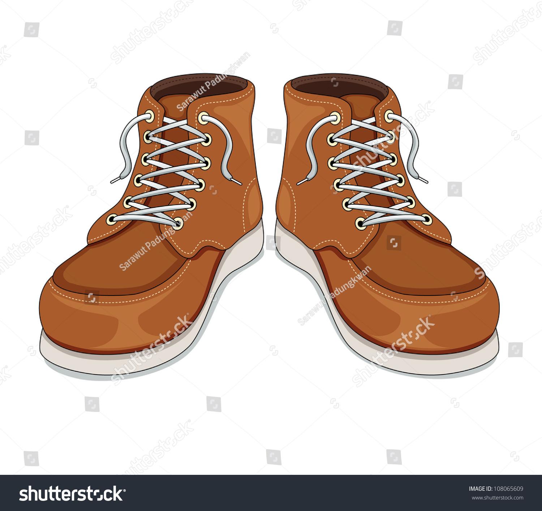 Boots Vector - 108065609  Shutterstock