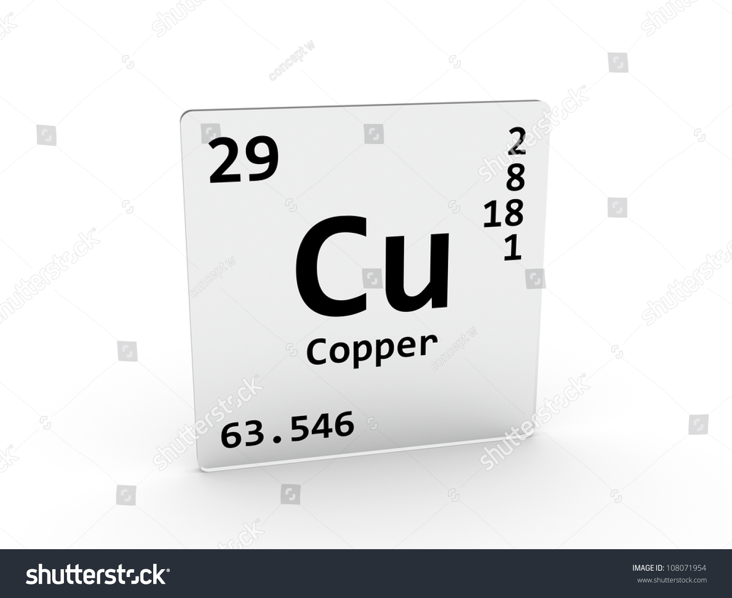 Copper symbol cu element periodic table stock illustration copper symbol cu element of the periodic table gamestrikefo Images