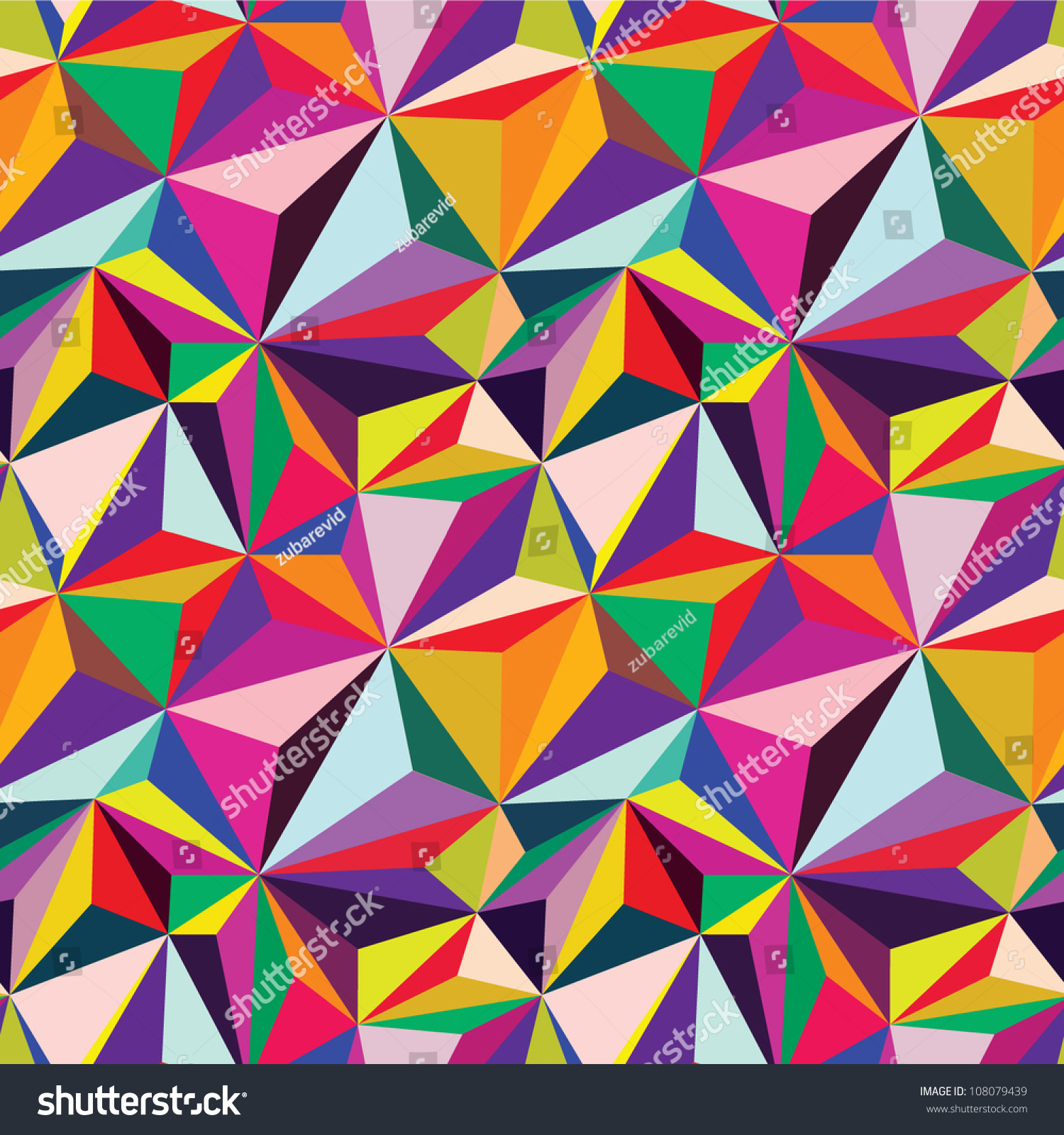 Abstract Vector Background Geometric Patterns Stock Vector ...