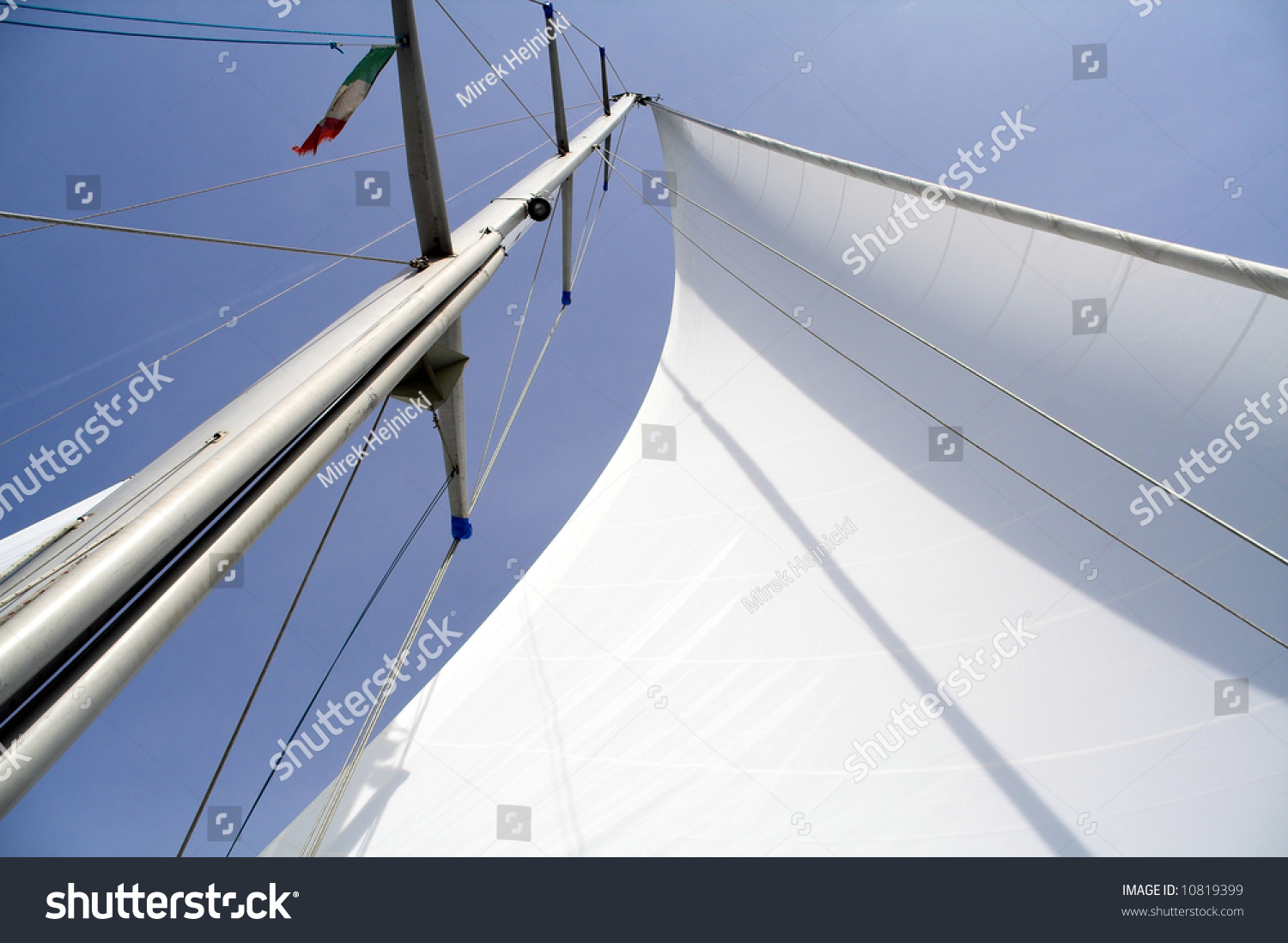 View Different Parts Yacht Stock Photo (Edit Now) 10819399