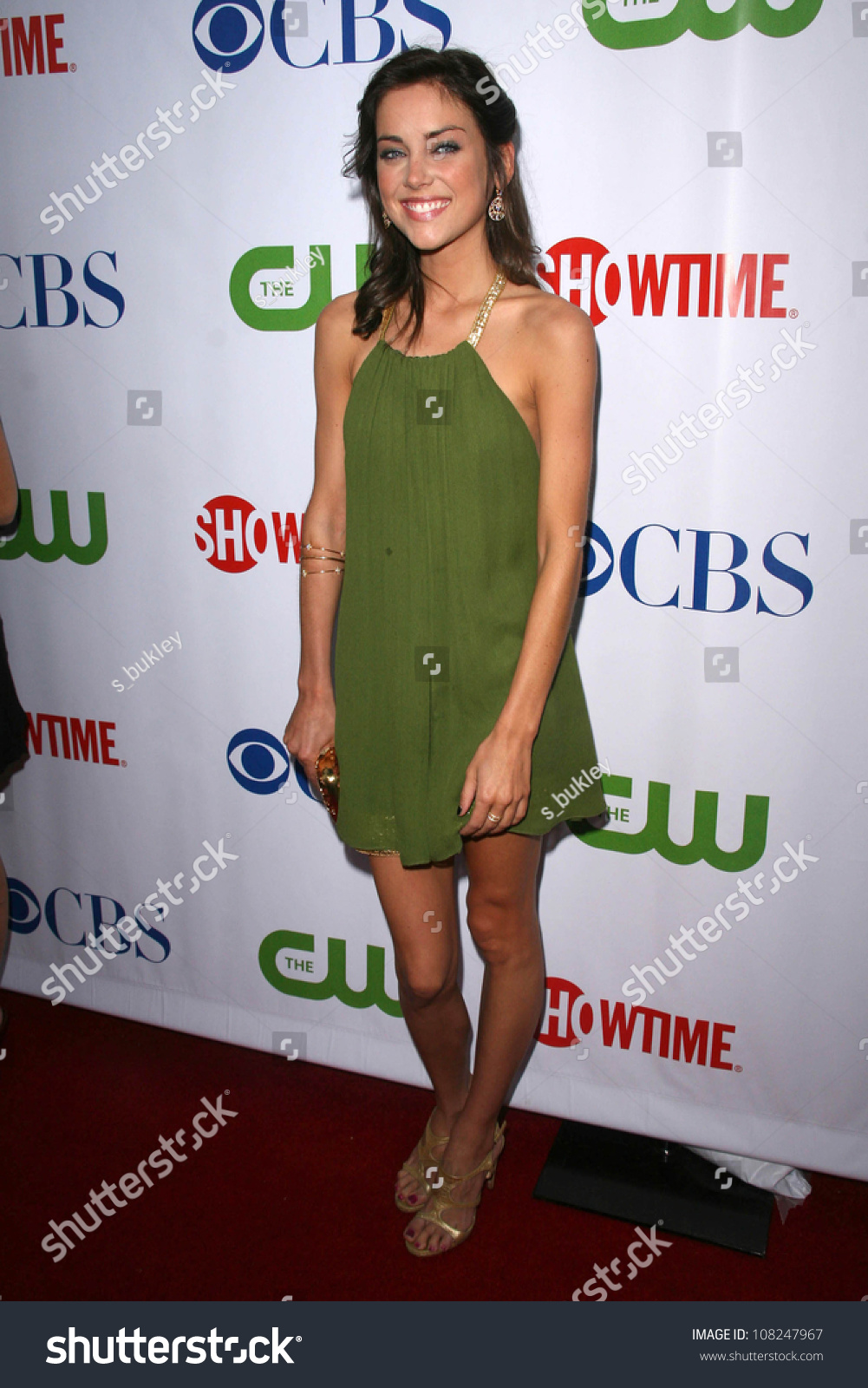 Jessica Stroup Cbs Cw Showtime Press Stock Photo (Edit Now
