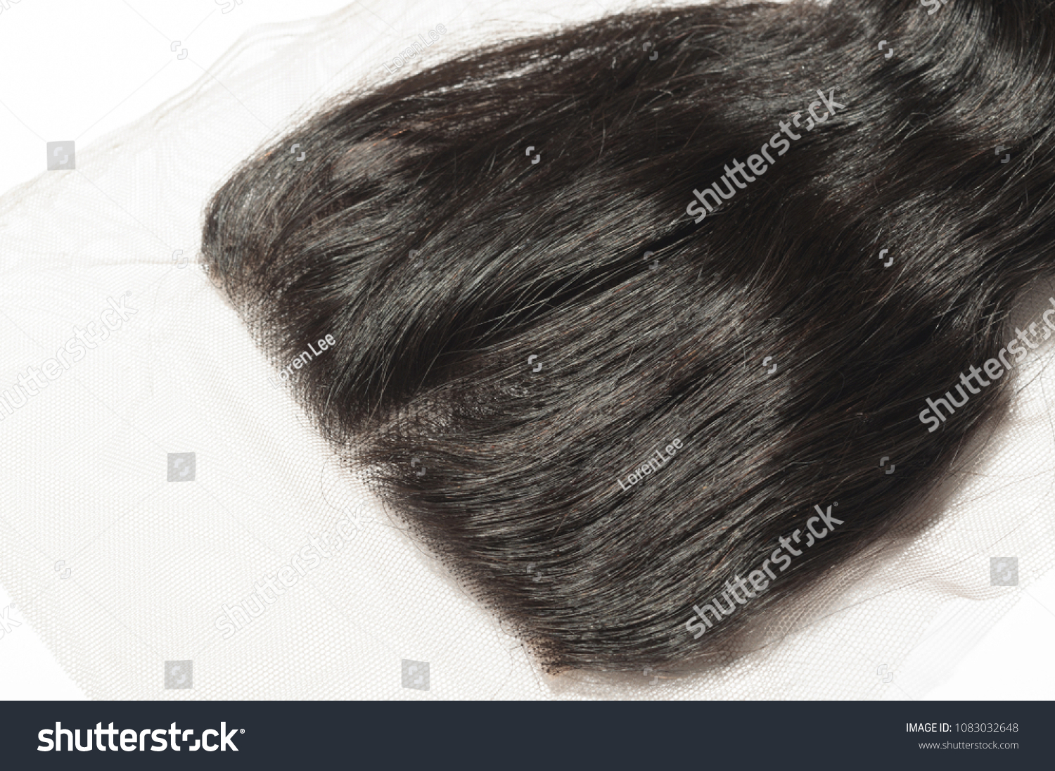 Virgin Remy Middle Part Loose Wavy Stock Photo Edit Now 1083032648
