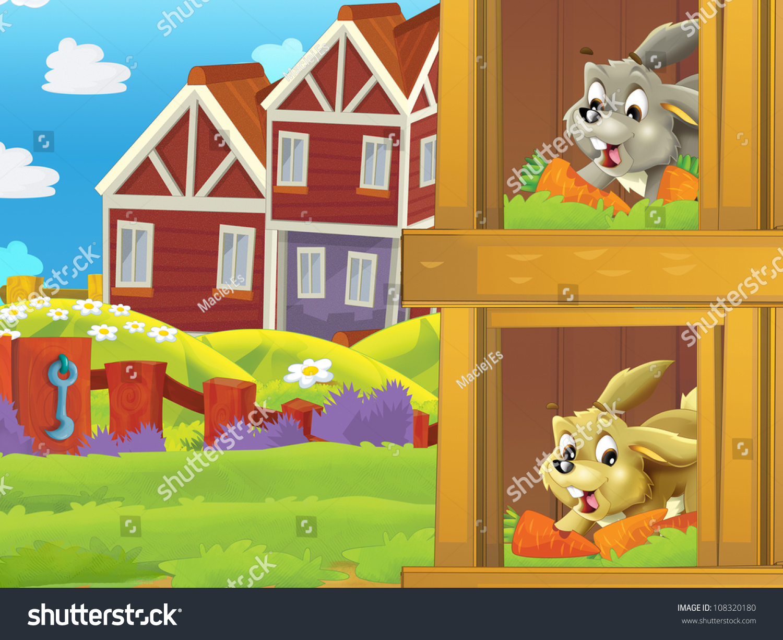 rabbit hutch clipart - photo #47