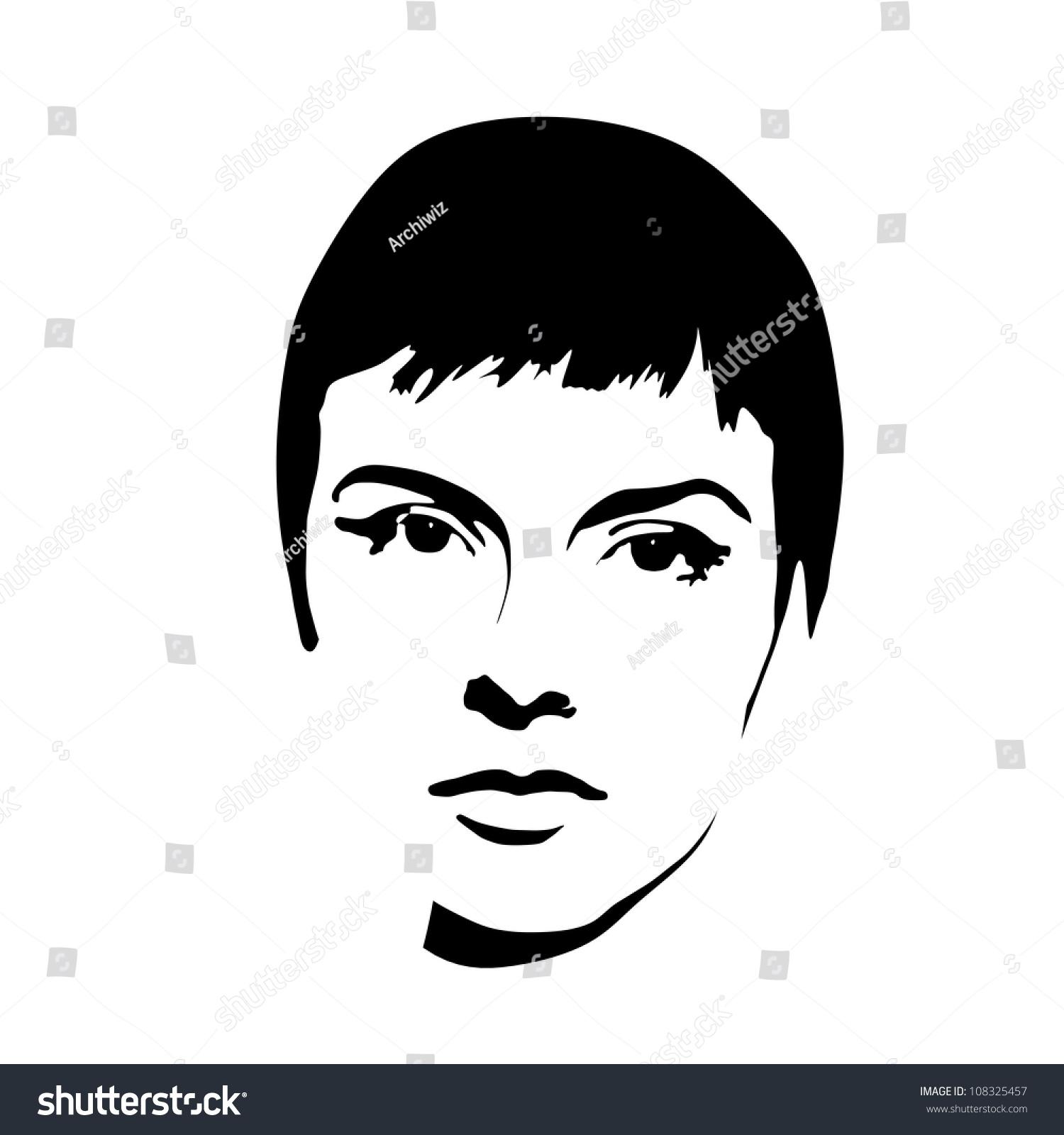 Vintage Silhouette Face