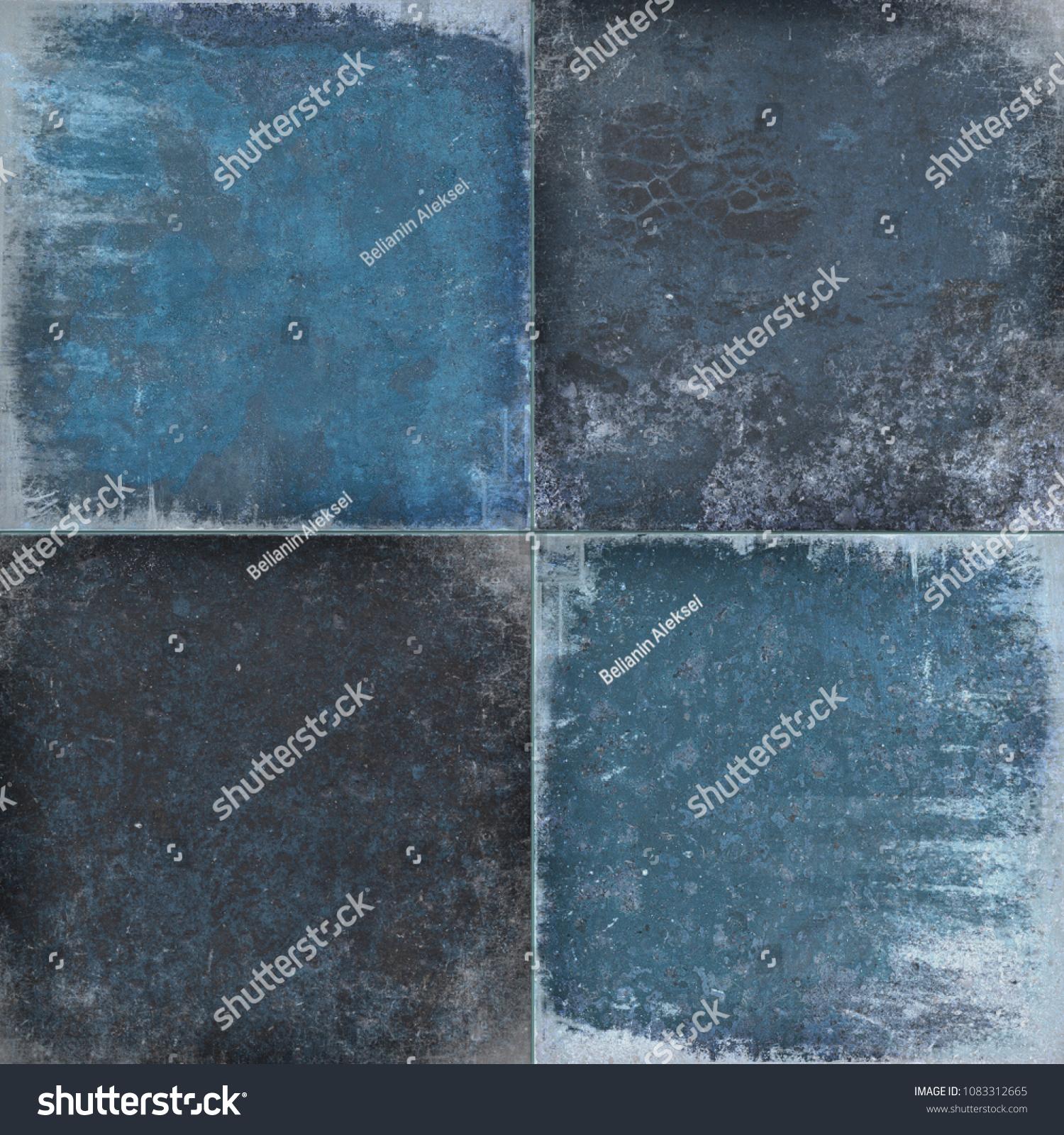 Background Wall Tiles Texture Design Backdrop Stock Illustration ...