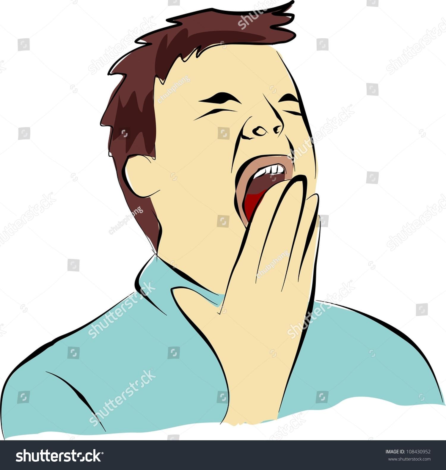 Yawn Gape Stock Illustration 108430952 - Shutterstock
