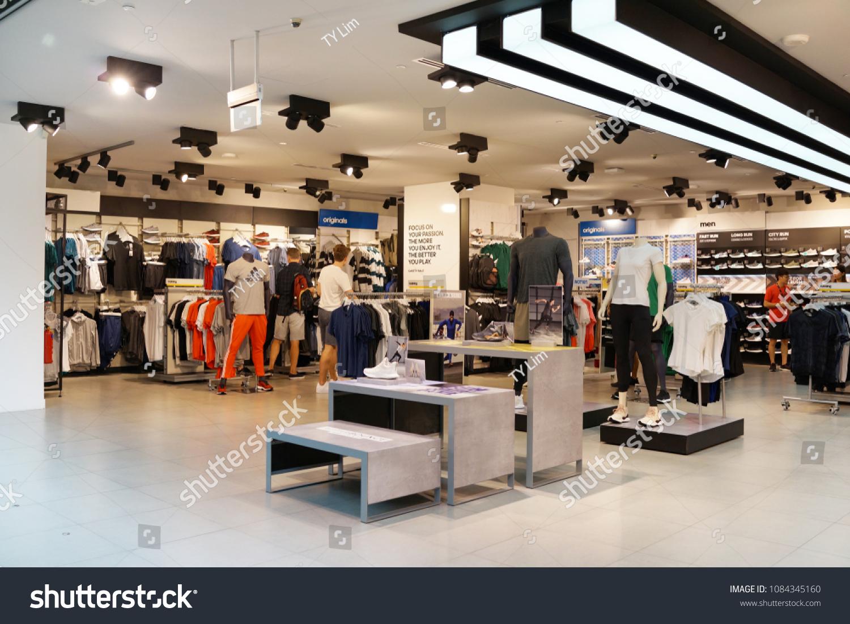 Singapore Apr 22 2018 Adidas Retail