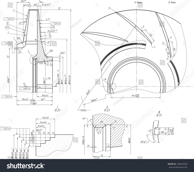 Sketch wheel centrifugal pump vector eps 10 stock vector 108434528 sketch of the wheel of a centrifugal pump vector eps10 ccuart Image collections