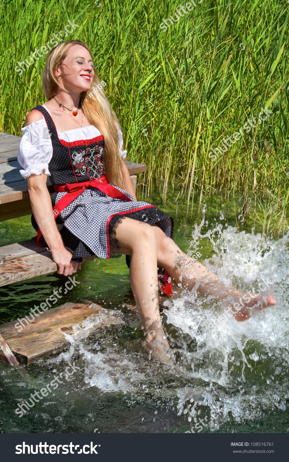 German women having fun