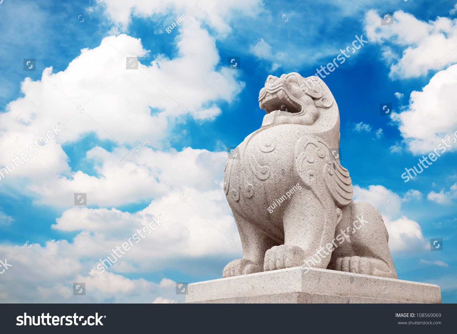 stone lion sculpture symbol of protection amp power in