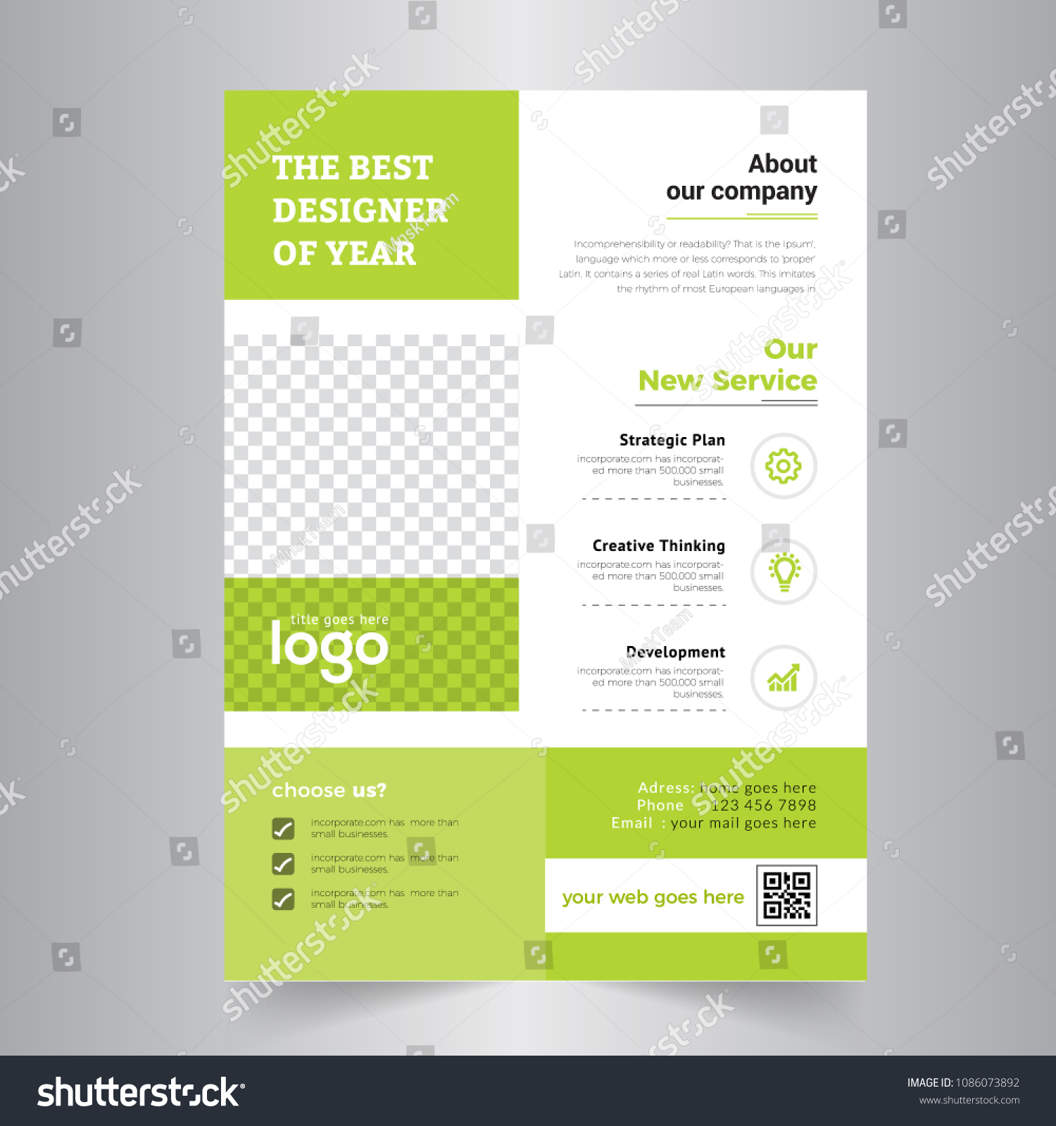 Flyer design business brochure template annual stock vector royalty business brochure template annual report cover booklet for education advertisement accmission Choice Image
