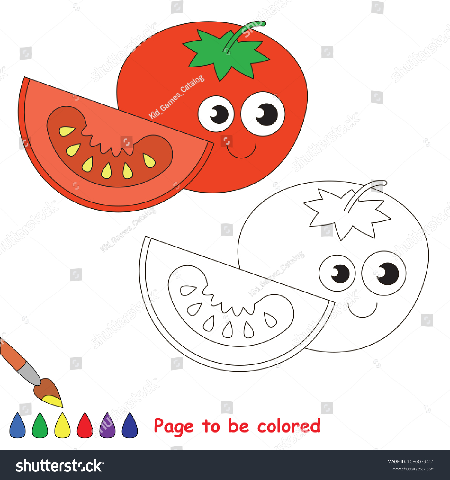 Funny Tomato Be Colored Coloring Book Stock Vector Royalty Free 1086079451 Dope tomato gaming | www.twitch.tv/dopetomatogaming www.mixer.com/dopetomatogaming www.twitter.com/dopetomato www.facebook.com/dopetomato. shutterstock