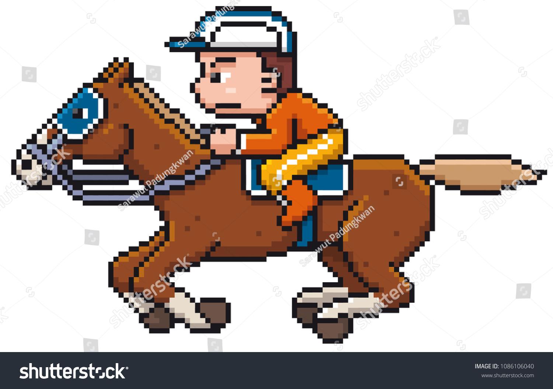 30+ Cartoon Horse Riding Clipart Gif