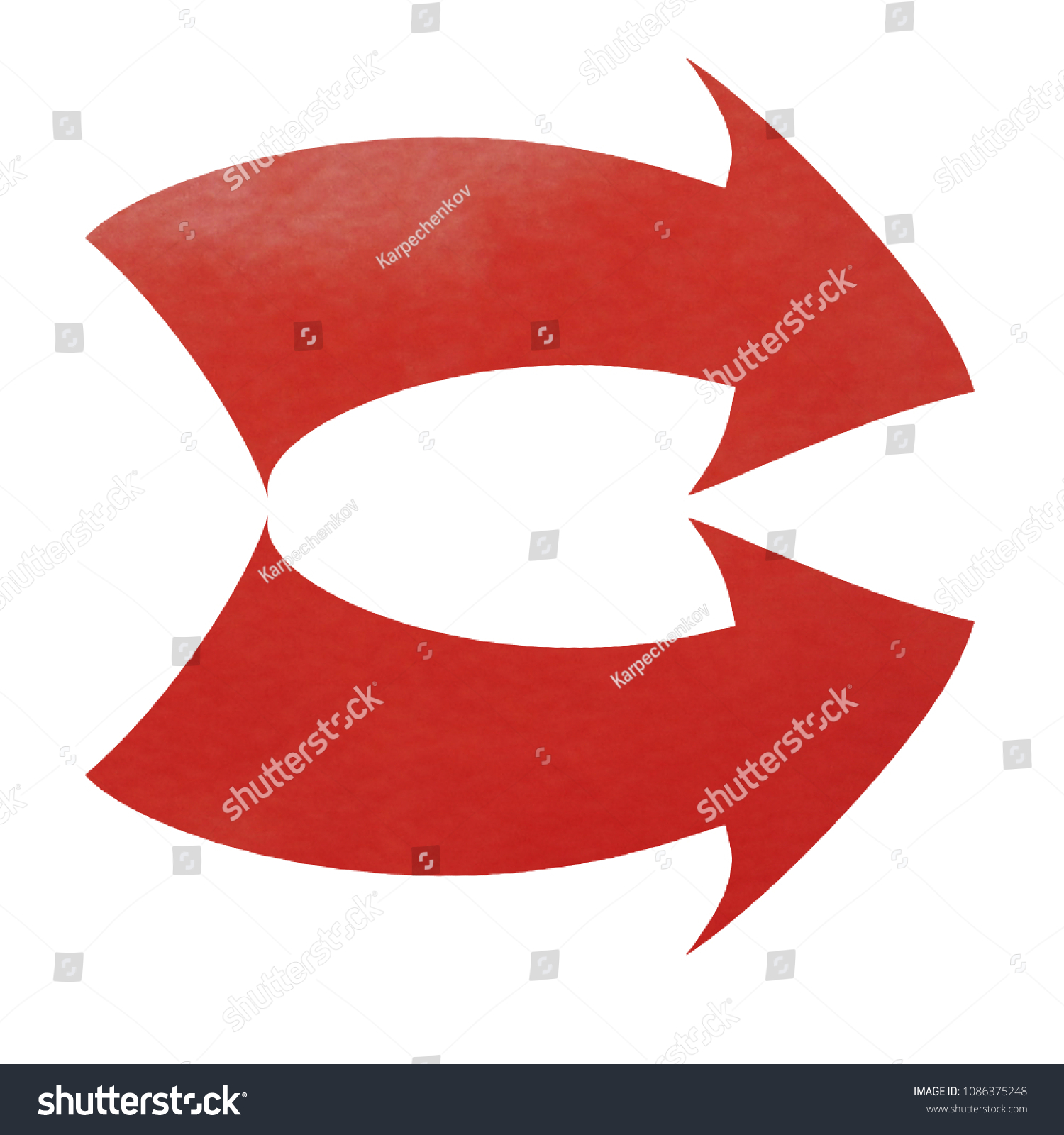 Right Arrow Symbol Double Arrows Sign Stock Illustration 1086375248