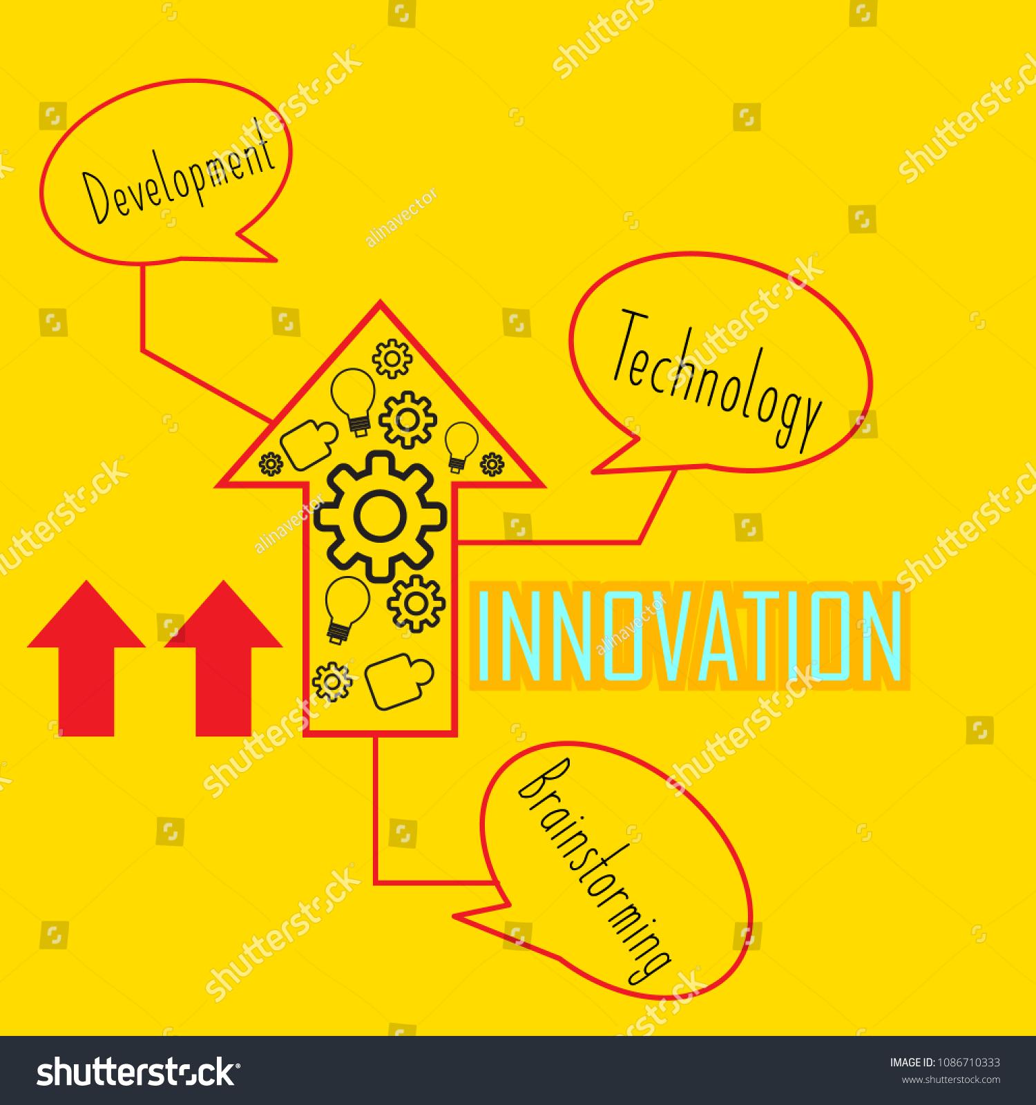 Logo Ideas Innovations Light Symbols That Stock Vector Royalty Free