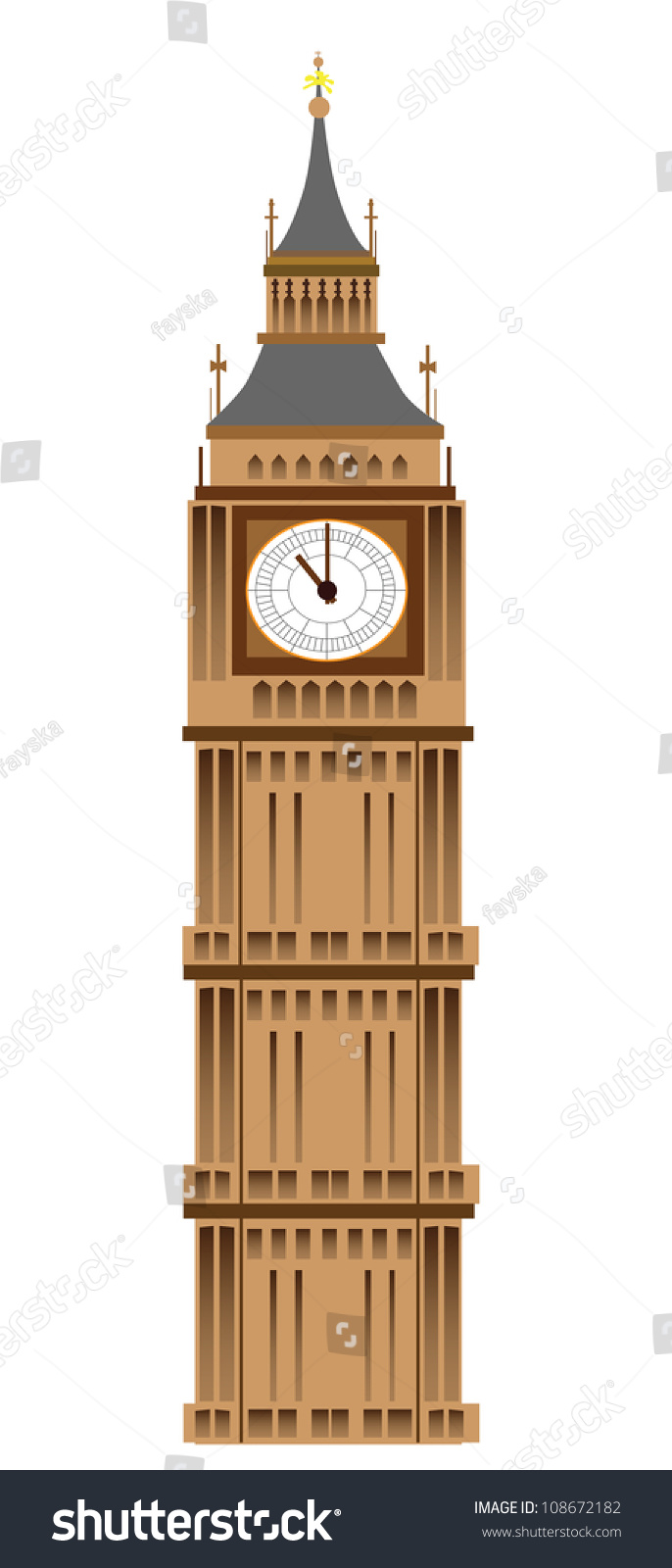 clip art clock tower - photo #29