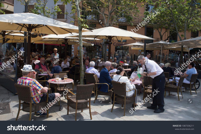 Elegant Palma De Mallorca Spain May 9 Stock Photo (Royalty Free) 1087336211    Shutterstock
