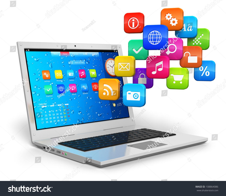Computer Mobility Internet Communication Cloud Computing