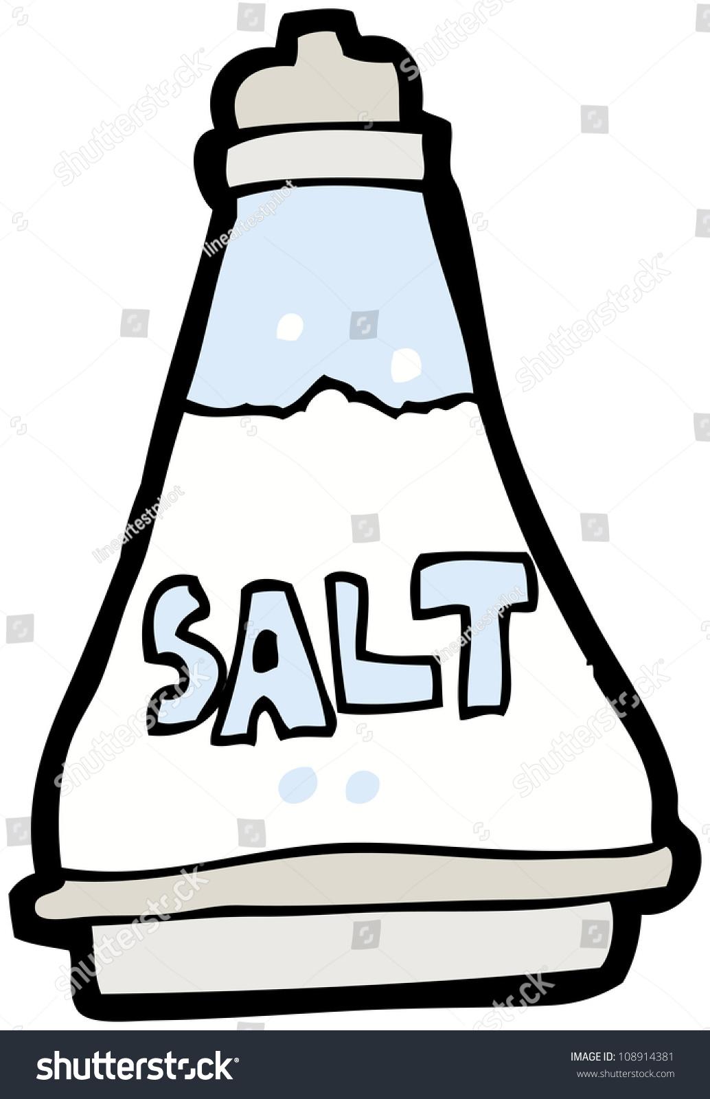 Crazy Salt Cartoon Stock Illustration - Image: 48898100