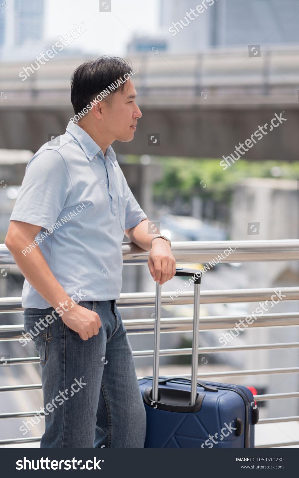 Old Men Planning Travel Spend Money Stock Photo (Edit Now) 1089510230