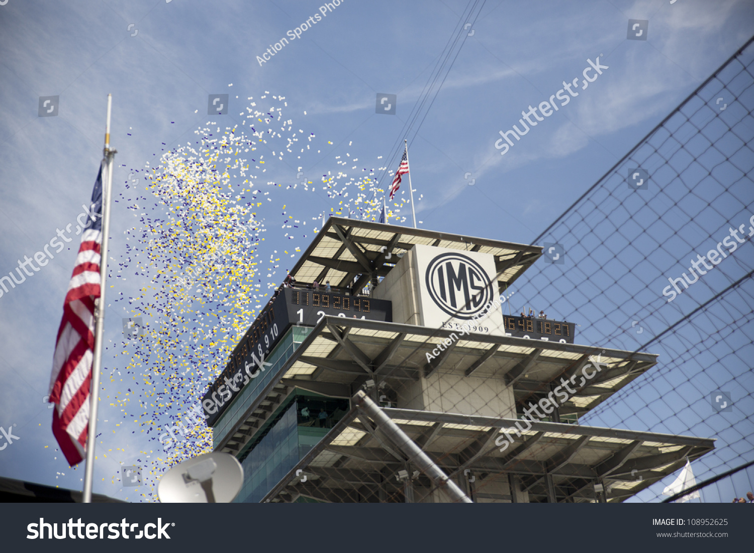 Indianpolis In Jul 29 2012 The Nascar Sprint Cup