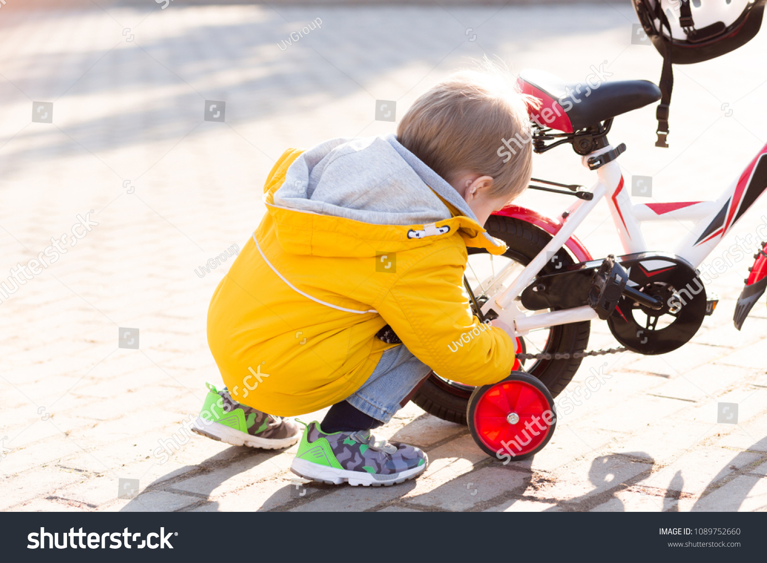 3 Years Old Happy Toddler Boy Stock Photo Edit Now 1089752660