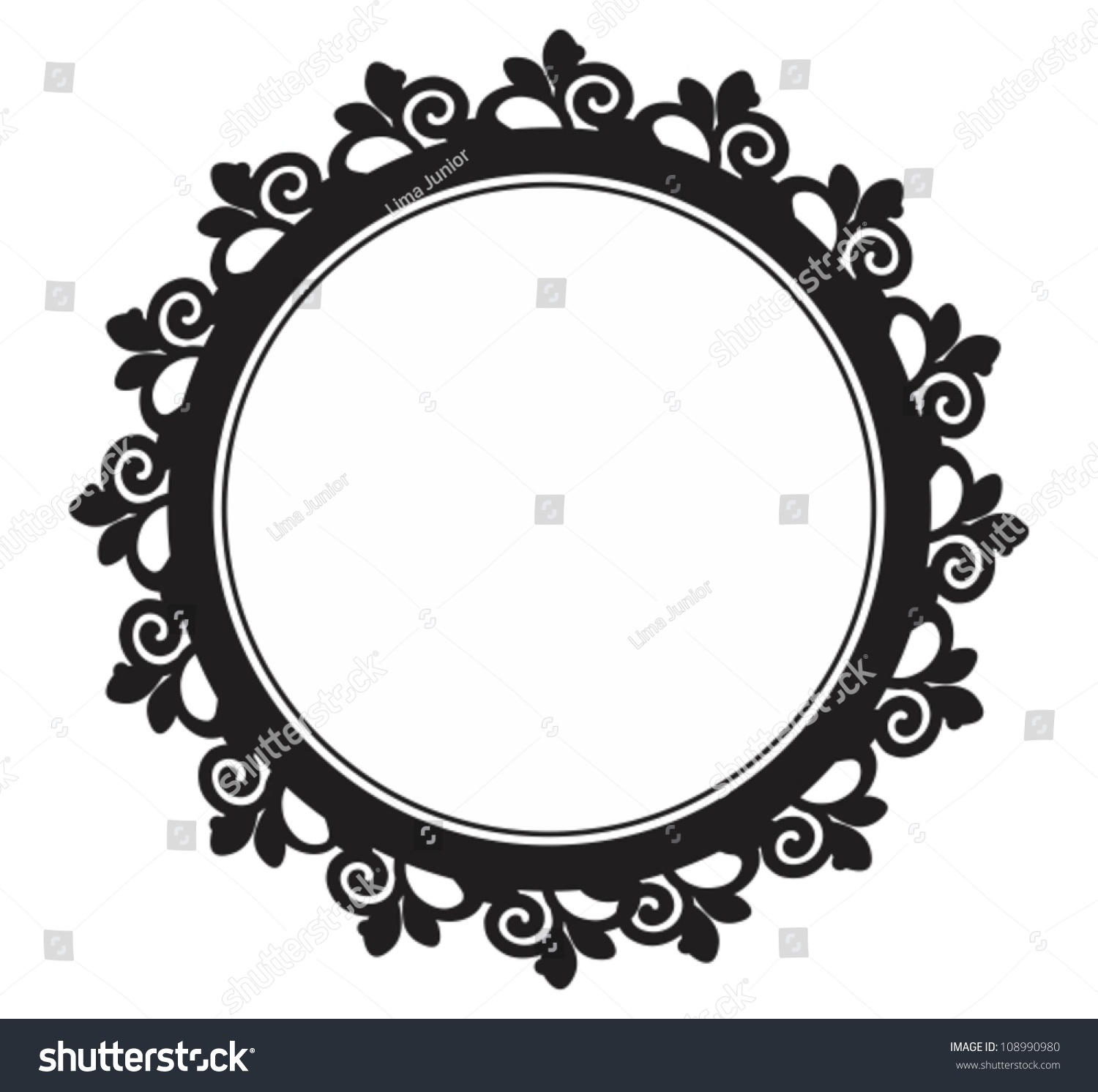 Amazoncom round picture frames