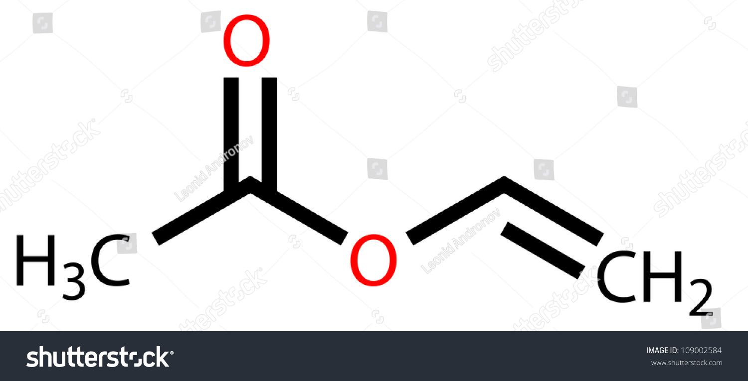 Vinyl acetate structural formula stock illustration 109002584 vinyl acetate structural formula buycottarizona Images