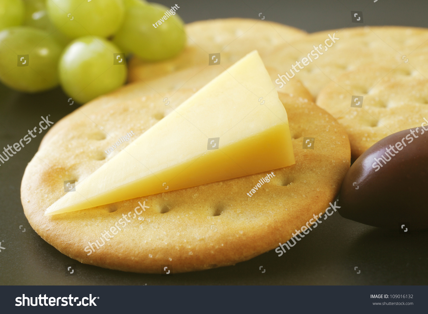 Classic Snack, Cheddar Cheese And Crisp Crackers With ...