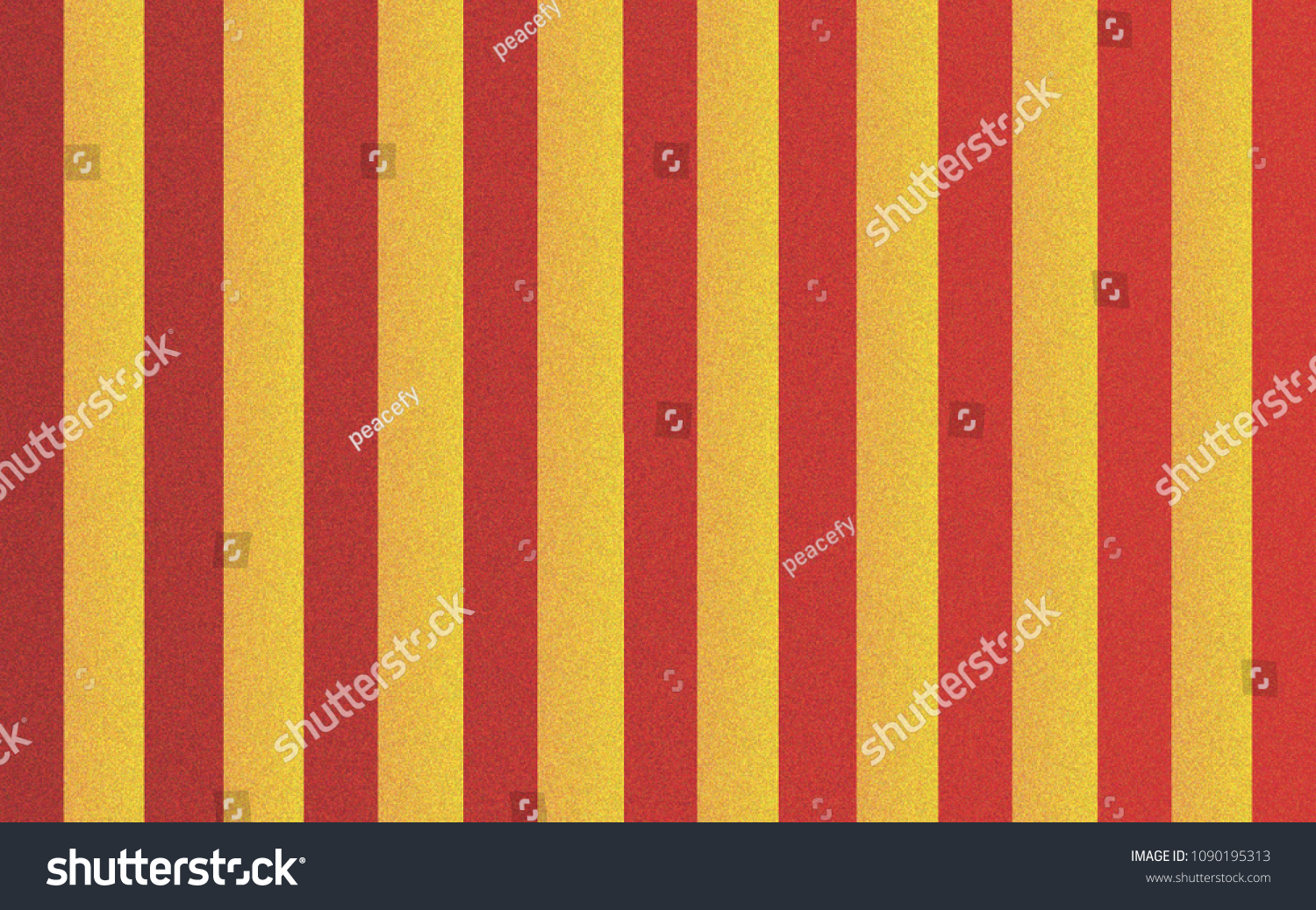 Red Yellow Vintage Circus Wallpaper Royalty Free Stock Image