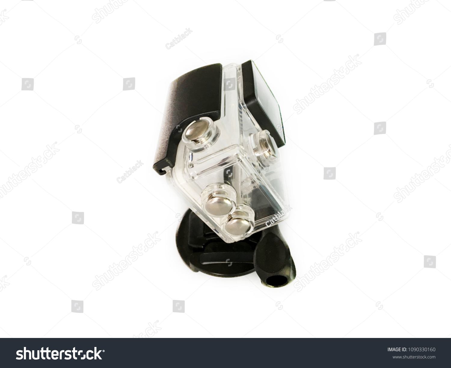 Right Camera Cover On White Background Stock Photo Edit Now 1090330160