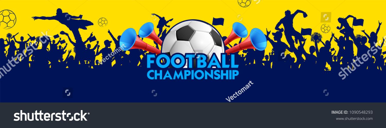 Soccer Championship Sports background