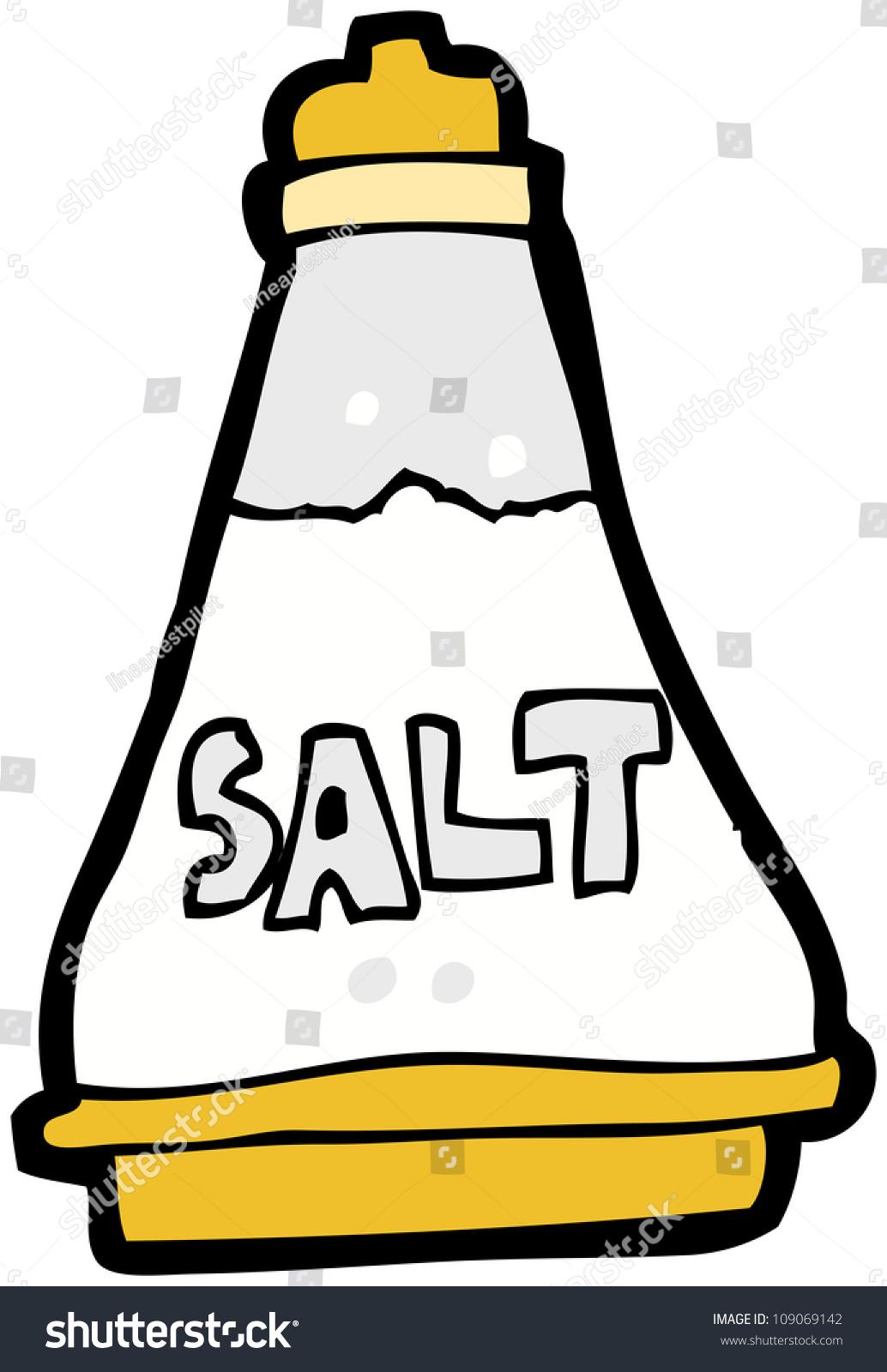 Sad Cartoon Salt Stock Vector - Image: 47334584
