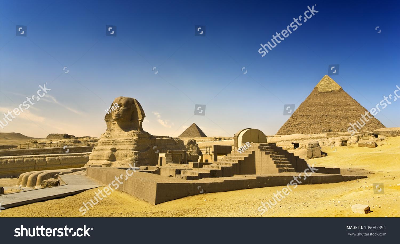 cairo pyramid of chephren khafre: