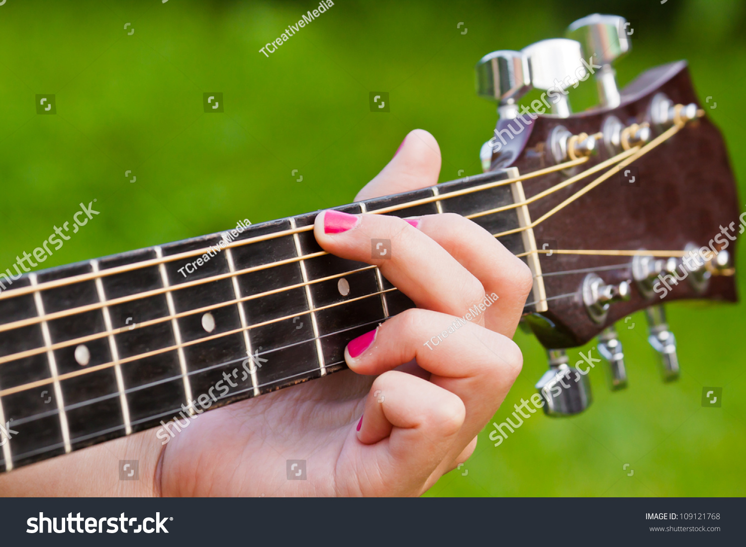 Finger Position G Major Guitar Chord Stock Photo Edit Now