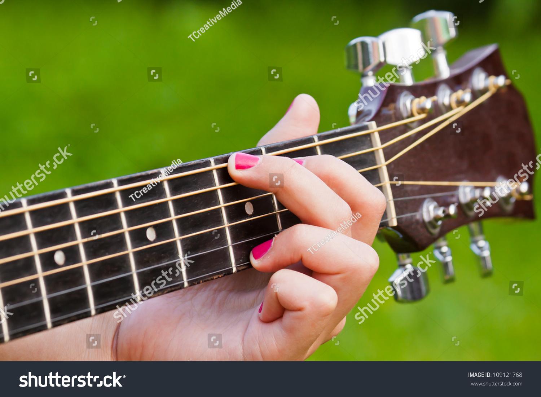 Finger Position G Major Guitar Chord Stock Photo Edit Now