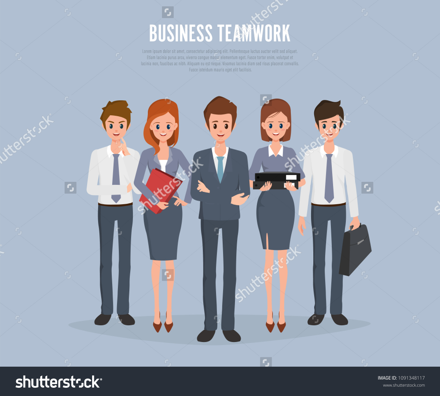 25+ Team Corporate Cartoon Wallpapers