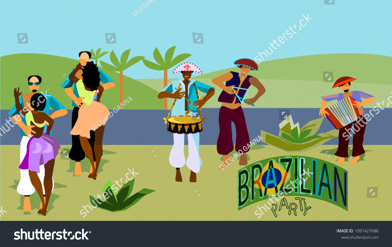 Festa Junina Brazilian Country Partytraditional Brazilian