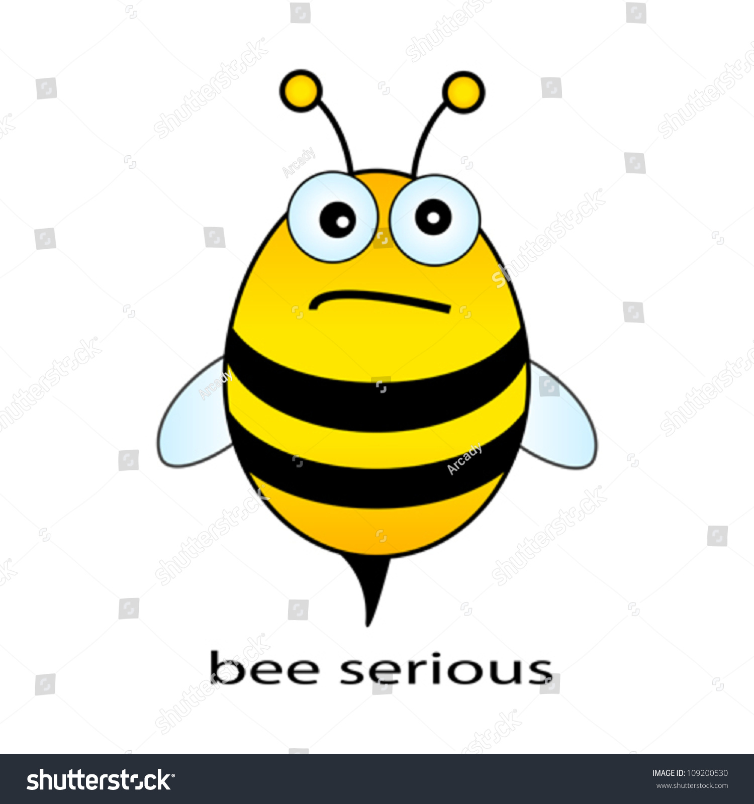 This is an image of Astounding Funny Bee Picture