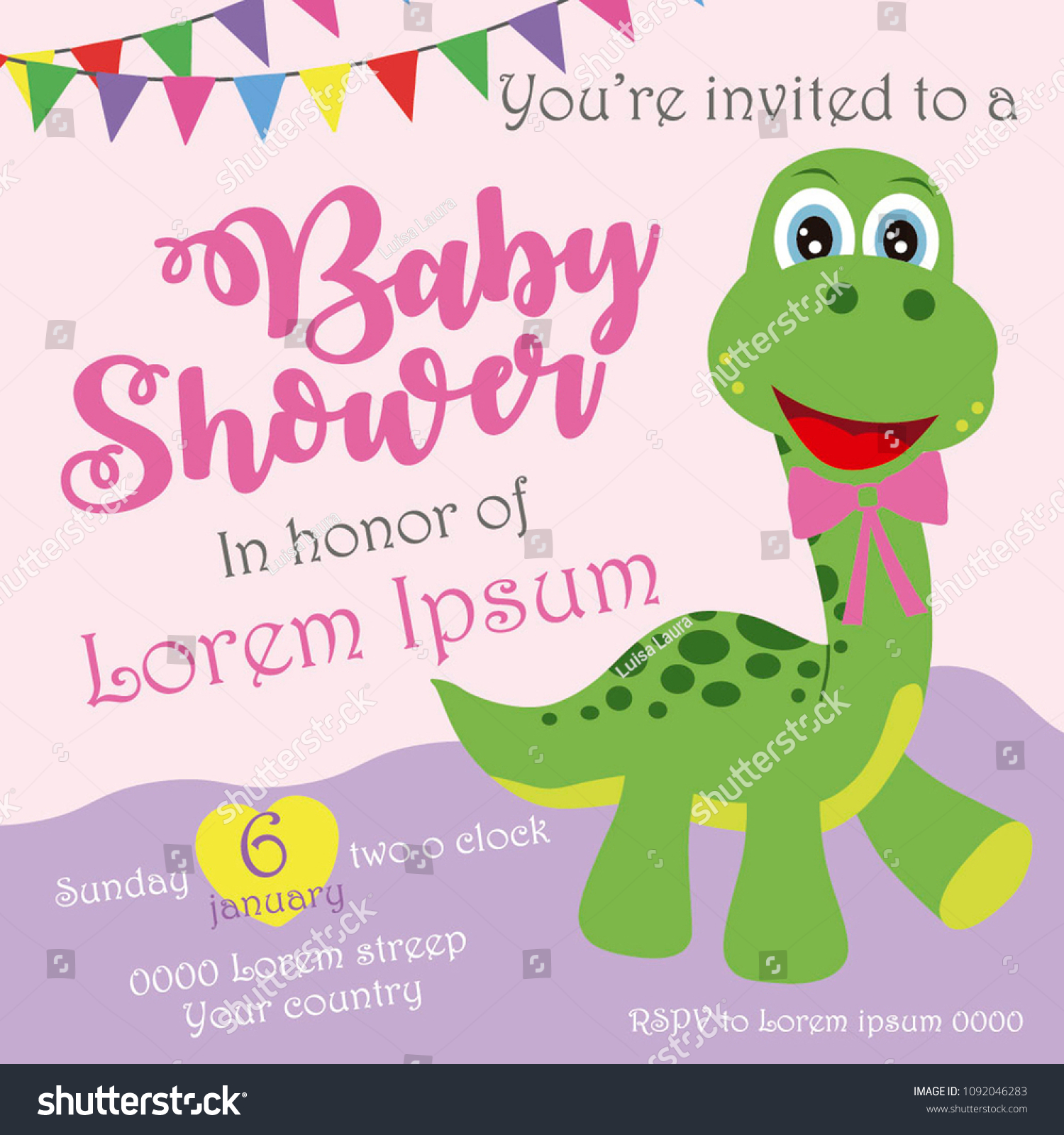 photograph relating to Free Printable Dinosaur Baby Shower Invitations named dinosaur invitation template -